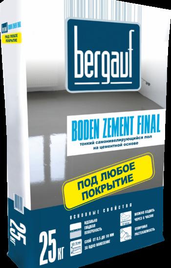 Boden Zement Final, 25кг вправо